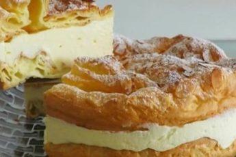 """Ох и вкусняшка пирог """"КАРПАТКА""""."""