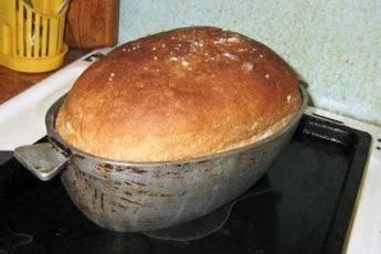 Рецепт аппетитного и мягкого домашнего хлеба без замеса 1