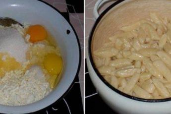 Рецепт безумно вкусных творожных галушек 1